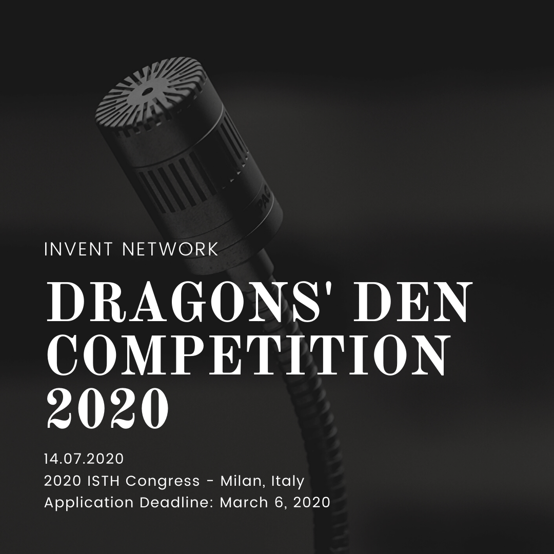 Call for Applications: Dragons' Den Competition 2020